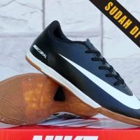 Nike Mercurial Vapor IX Hitam(sepatu futsal,bola,sekolah,olah