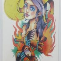 Tato Temporer - tatto temporer - temporary tattoo MC718