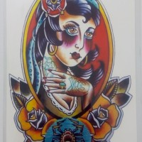Tato Temporer - tatto temporer - temporary tattoo MC716