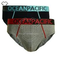 Celana dalam pria OCEAN PACIFIC BIG SIZE ISI 2