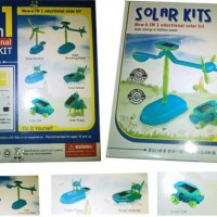 Kit Robot Solar Adalah Mainan Gadget Hijau Menyenangkan