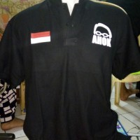polo shirt /kaos TEMAN AHOK .
