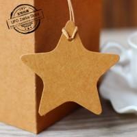 HANGTAG bintang tag label merk baju brand tas produk samson karton new