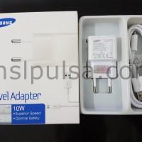 Charger Samsung Galaxy S4/Note 2/Mega/Grand/J1/J3 10W 2A Original 100%