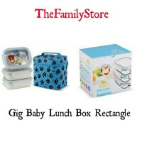 Gig Baby Lunch Box Rectangle