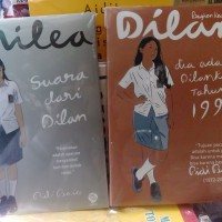 Paket Novel Dilan 2 dan Milea (Pidi Baiq)