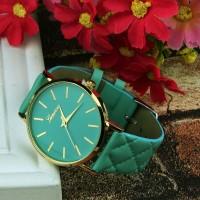 Jam Tangan Wanita Geneva Fashion Women Lady Watch Leather