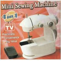 Mesin Jahit Portable 4 In 1/ Mini Sewing Machine 4 In 1,