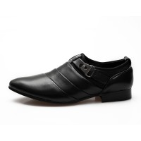 PINSV Men Formal Shoes Casual Loafers ff08Black ff09 - Intl