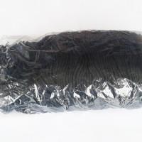 Tali kur Talikur Tali Paperbag Warna Hitam Ukuran Besar Diameter 4 mm