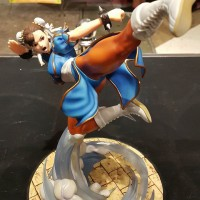 ORIGINAL TSUME ART Street Fighter 2 Chun Li, NEW OPEN CEK & VERY RARE