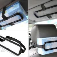 Car Holder Tissue Penjepit Gantungan Tempat Tisue Tisu Box Kotak Mobil