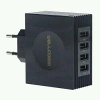 Travel Charger Wellcom 4 Port USB 4,2A