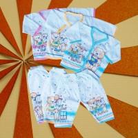 Setelan Baju Bayi Baby Baru Lahir Newborn Perlengkapan Celana Murah