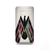 avangers logo case 3D for HTC ONE M7