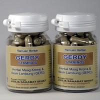 GERDY-STAMINOS (Kapsul Herbal Obat Maag Kronis & Asam Lambung/GERD)