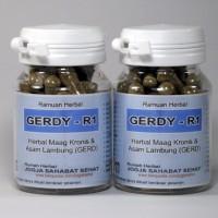 GERDY-R1 (Kapsul Herbal Obat Maag Kronis & Asam Lambung/GERD)