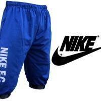 Celana Joger Pendek 3/4 Nike Biru (Jogger Pants,Training,Sport,Unisex)