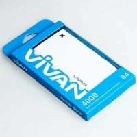 Powerbank Vivan B4 4000mah Original By Vivan (Real Capacity)