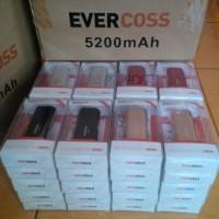 powerbank evercoss 5200 mAh / 5200mah
