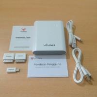 Powerbank Vivan IP-S100 / IPS100 10000mAh 2output Garansi Resmi 1Tahun