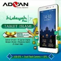TABLET ADVAN VANDROID X 7 / X7 HIDAYAH PLUS 8GB RAM 1GB GARANSI 1 THN