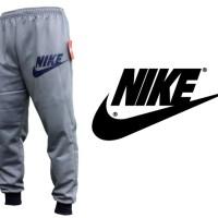Celana Joger Panjang Nike Abu-Abu (Training,Navy,Unisex,Pants,Grey)