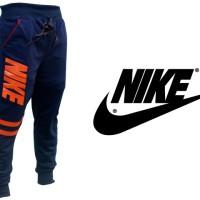 Celana Joger Panjang Nike Biru Dongker (Training,Navy,Unisex,Pants)
