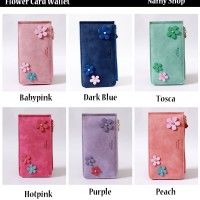 FLOWER CARD WALLET - NAMY SHOP
