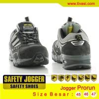 Safety Jogger Prorun ( Sepatu safety kulit pria kerja kantor murah)