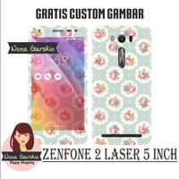 Garskin Zenfone 2 Laser 5 inch - Bunga
