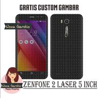 Garskin Zenfone 2 Laser 5 inch - Carbon