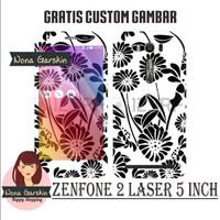 Garskin Zenfone 2 Laser 5 inch - batik