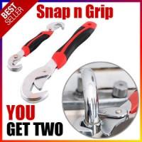 SNAP N GRIP double Kunci Inggris Pas Multifungsi Serbaguna universal