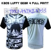 Kaos Luffy Gear 4 Mode FullPrint