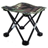 Kursi Lipat Mancing / Pancing Kotak Desain Army - Camouflage D147