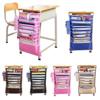 Hanging Table Desk Organizer Meja Belajar Book Rack Buku Alat tulis