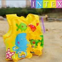Intex Jaket Renang Anak Swim Vest, Pelampung Renang Anak Ban Renang