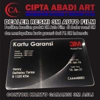 KACA FILM 3M CRYSTALLINE - DEPAN ( MEDIUM CAR )