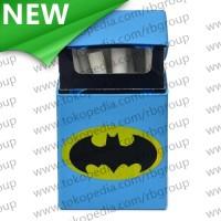Cover Kotak Rokok Silicone Motif Batman - Blue