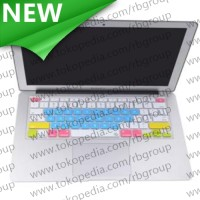 Candy Color Silicone Keyboard Cover Protector Skin Macbook Pro 17 - B
