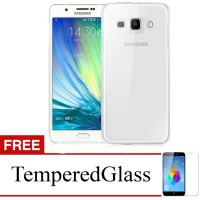 Case for Samsung Galaxy J1 2016 / J120 - Clear + Gratis Tempered Glass