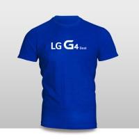 Kaos Baju Pakaian GADGET HANDPHONE LG G4 BEAT Logo Font murah