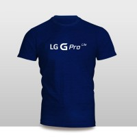 Kaos Baju Pakaian GADGET HANDPHONE LG G PRO LITE Logo Font murah