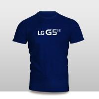 Kaos Baju Pakaian GADGET HANDPHONE LG G5 SE Logo Font murah