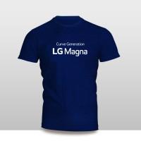Kaos Baju Pakaian GADGET HANDPHONE LG MAGNA Logo Font murah