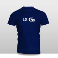 Kaos Baju Pakaian GADGET HANDPHONE LG G3 Logo Font murah