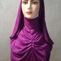 Pasmina instan/Jilbab Instan Bergo/Kaos Motif Polos
