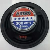 SPEAKER 8 INCH WOOFER AUDIO 300 WATTS 8 OHMS