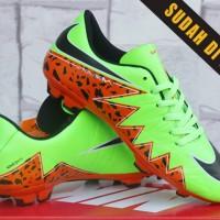 Nike Hypervenom phantom sta Orange(sepatu futsal,bola,sekolah,olahraga